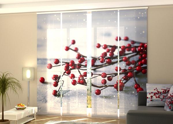 Pimentävä paneeliverho Xmas Decoration 240x240 cm ED-218274