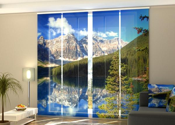 Pimentävä paneeliverho Canadian Rockies 240x240 cm