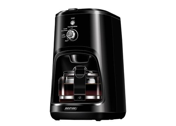 Кофеварка с кофемолкой 2 в 1 MPM