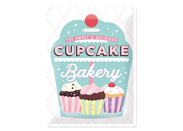 Retro metallposter Cupcake Bakery 30x40 cm SG-218436