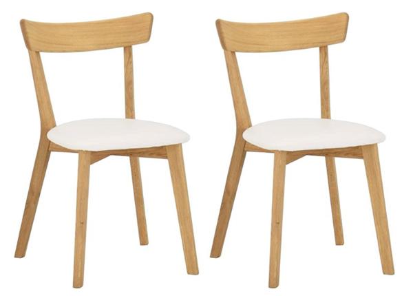 Tammepuidust toolid Viola B, 2 tk