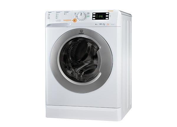 Pyykinpesukone kuivausrummulla Indesit