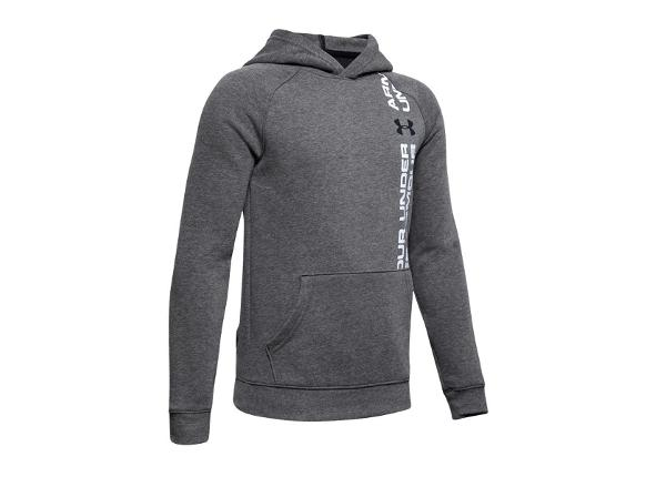 Lasten huppari Under Armour JR Rival Wordmark Hoodie Jr 1345231-001