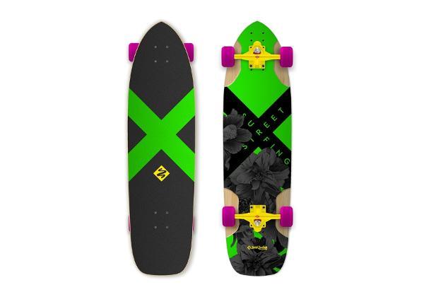 """Longboard Freeride Electrica 36"""" Street Surfing"""