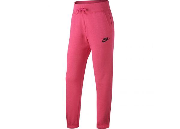 Lasten verryttelyhousut Nike G NSW FLC REG Jr 806326 615