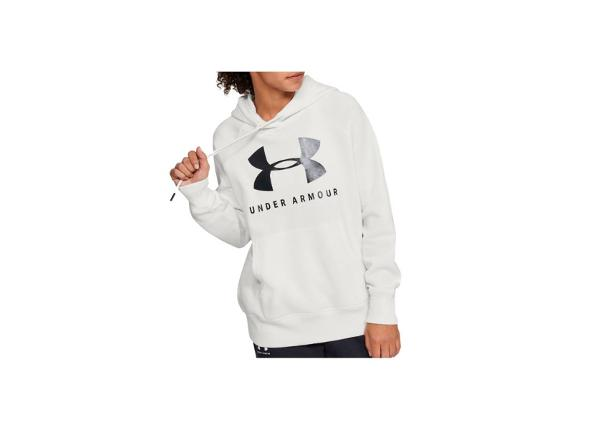 Dressipluus naistele Under Armour Rival Fleece Sportstyle Graphic Hoodie W 1348550-112