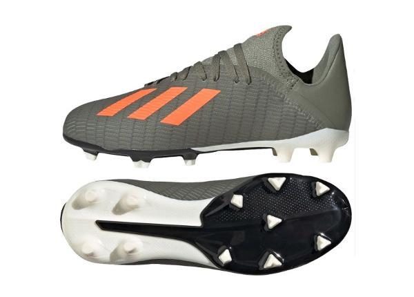 Lasten jalkapallokengät adidas X 19.3 FG JR EF8374
