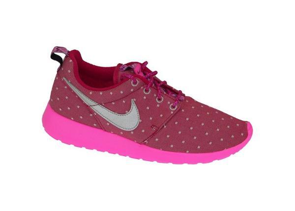 Naisten juoksukengät Nike Rosherun Print Gs W 677784-606
