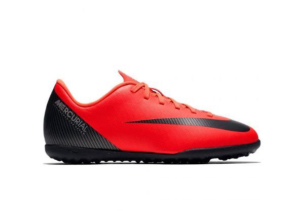Lasten jalkapallokengät Nike Mercurial Vapor X 12 Club GS CR7 TF Jr AJ3106 600