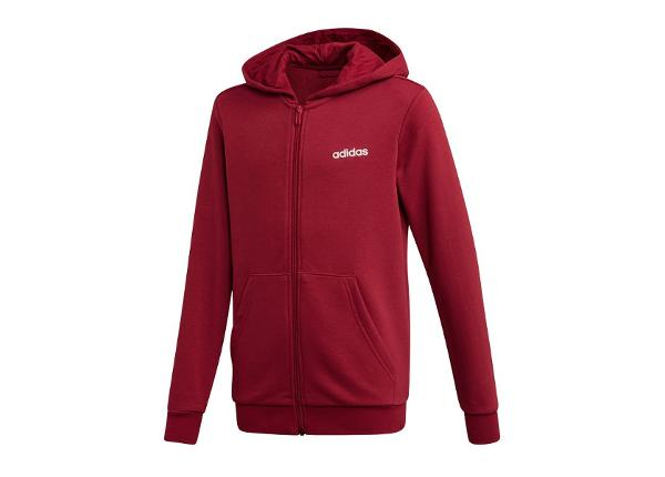 Lasten huppari adidas JR Essentials Linear FZ Hoodie Jr EI8003