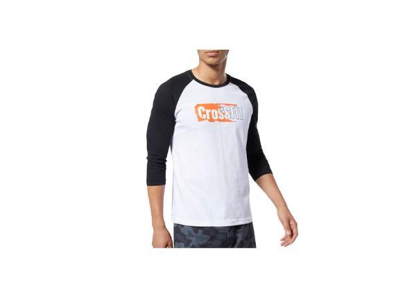 Treeningsärk meestele Reebok CrossFit Sticker Rip Raglan Tee M EC1488