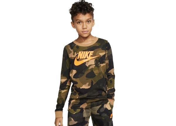 Lasten vapaa-ajanpaita Nike NSW Camo Jr CK5765-243