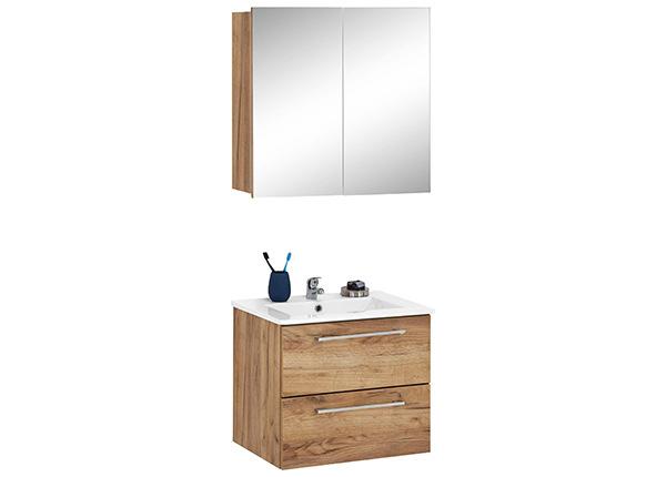 Kylpyhuoneen kalusteet + pesuallas Intenso