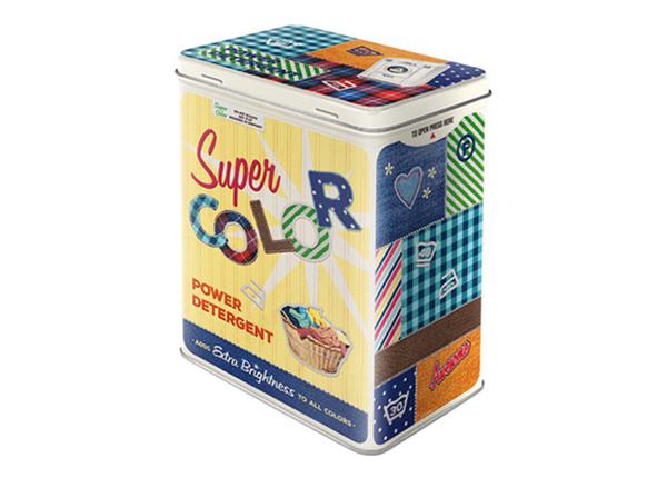 Жестяная банка Super Color Detergent 3 л