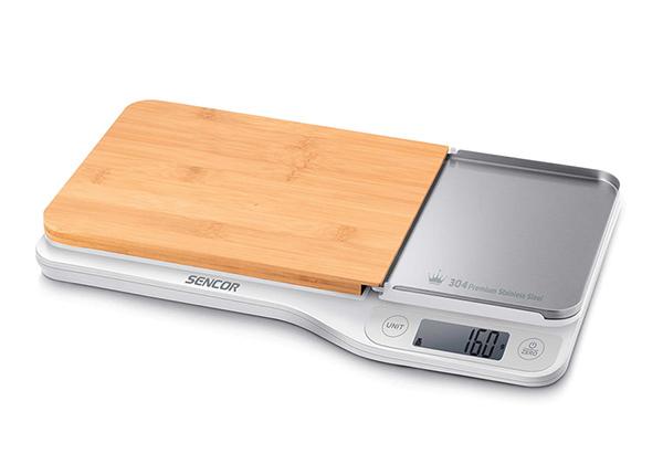 Кухонные весы с разделочной доской Sencor