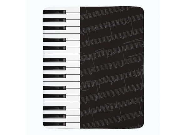 Fleecepeitto Piano Keys