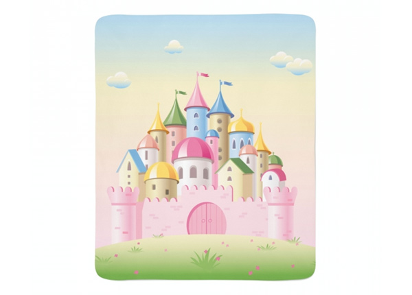 Fleecepeitto Pink Castle