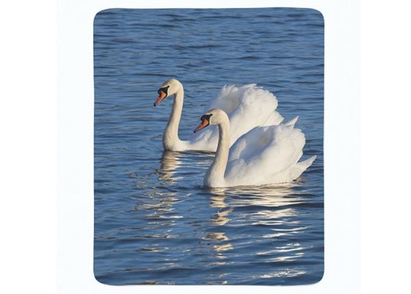 Fleecepeitto White Swans