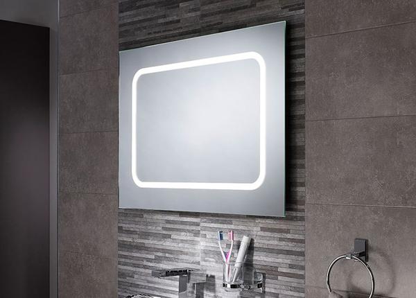Зеркало с LED подсветкой Grace 80x60 см