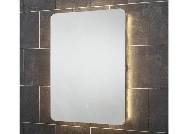 Зеркало с LED подсветкой Reagan 80x60 см
