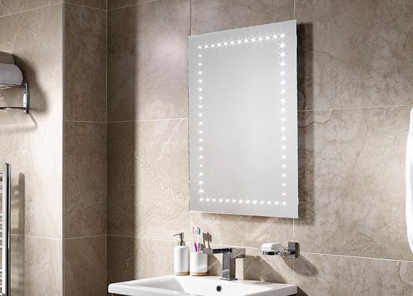 Зеркало с LED подсветкой Bronte 80x60 см