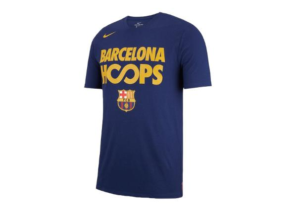 Vabaajasärk meestele Nike FC Barcelona Dry Tee Hoops M AA5574-421