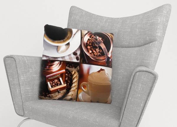 Koristetyynyliina Coffee 5