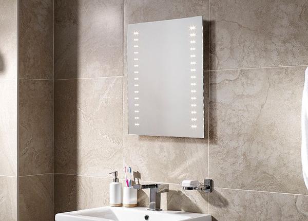 Зеркало с LED подсветкой Skye 60x50 см