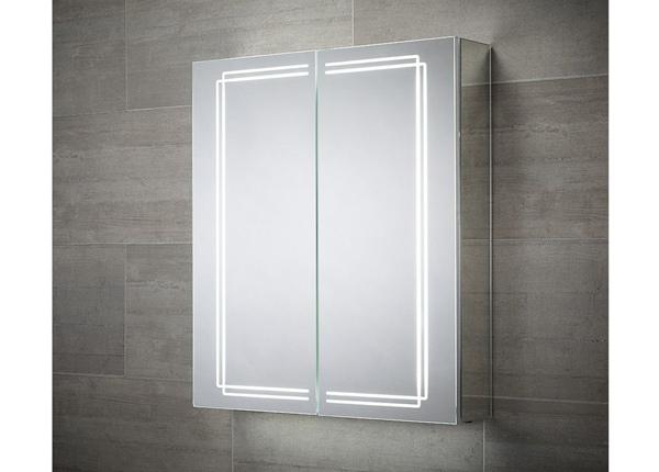 Peili LED-valaistuksella Harlow 70x60 cm LY-223074