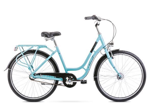 Linnajalgratas naistele 18 M TURING 3S roheline