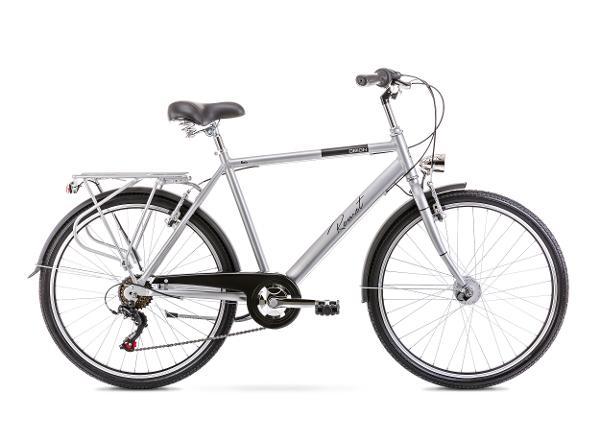 Linnajalgratas meestele 20 L ORION 6S hõbe