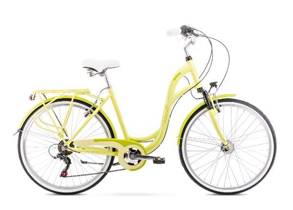 Linnajalgratas naistele 19 L SYMFONIA 1 hele roheline