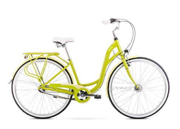 Linnajalgratas naistele 19 L SONATA 2 roheline
