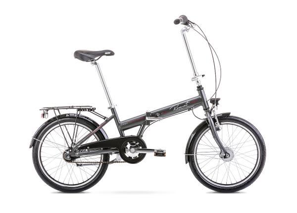 Jalgratas kokkupandav 13 XS WIGRY 4 grafiit