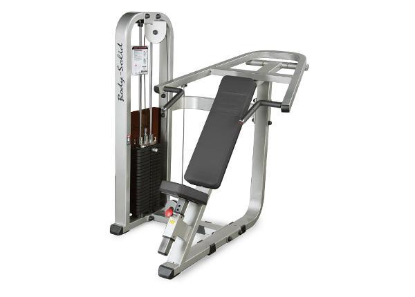 Rinna ja õla trenažöör jõusaalidesse Press Machine Body-Solid SIP-1400G/2