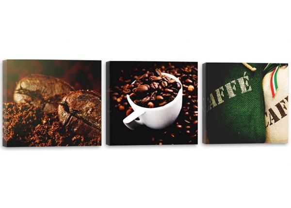 Картина из 3-частей Aromatic coffee