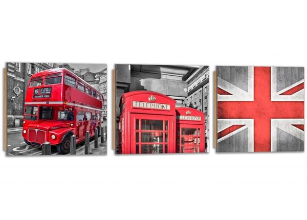 Картина из 3-частей London