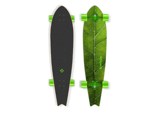 Longboard Street Surfing Fishtail The Leaf 42""