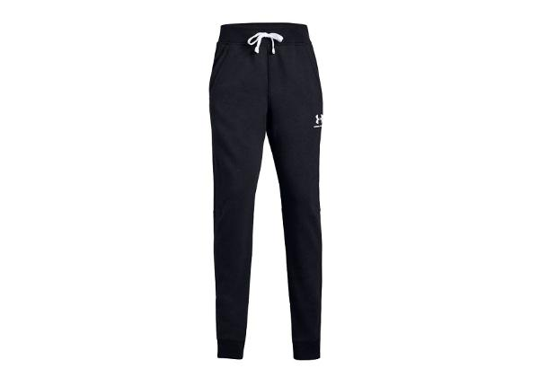 Lasten verryttelyhousut Under Armour Cotton Fleece Jogger Jr 1343679-002