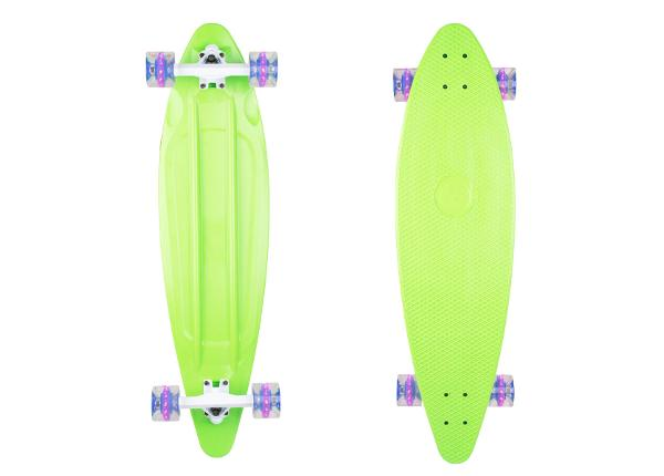 Longboard plastikust Pike 36ʺ W/ Light Up Wheels WORKER