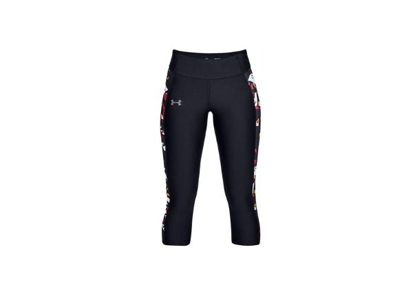 Naisten treenileggingsit Under Armour Speed Stride Printed Capri W 1321446-004