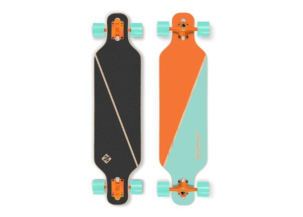 Longboard Street Surfing Freeride Nordic Orange 39""