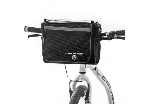 Jalgratta kott lenksule kaardihoidjaga CRUSSIS