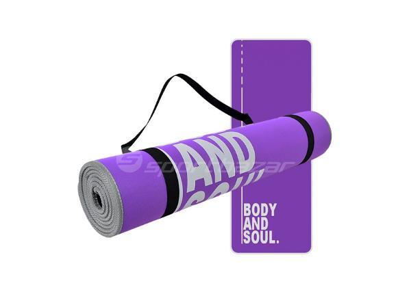 Мат для йоги PROFIT Body and Soul