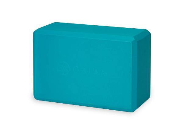 Блок для йоги GAIAM Vivid синий