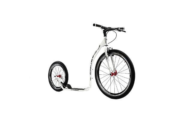 Potkupyörä Crussis Urban 4.1 valkoinen-musta