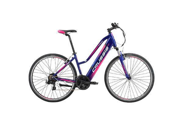 Naisten sähkömaastopyörä Crussis e-Cross Lady 1.4-S