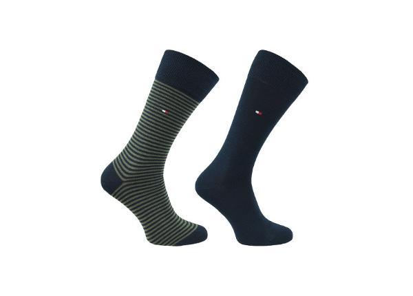 Vabaajasokkide komplekt meestele Tommy Hilfiger 2-pakk Socks M 342029001-150