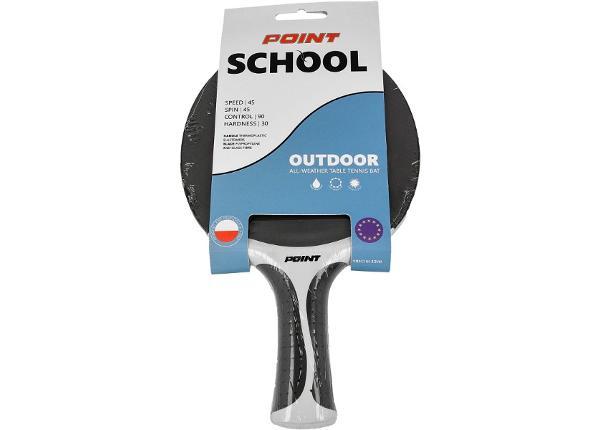 Pöytätennismaila POINT School Outdoor