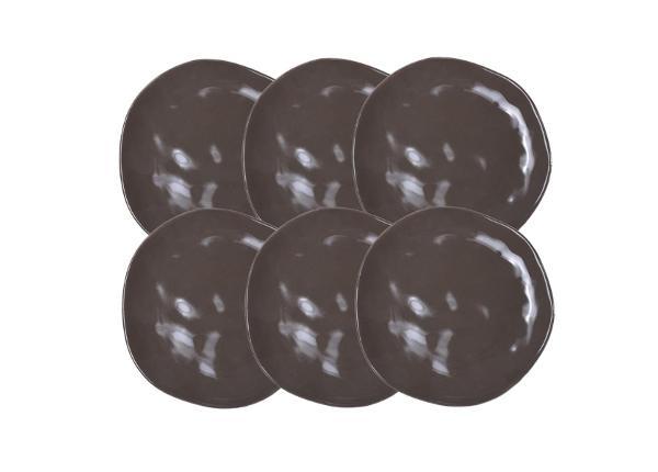 Keraamiset ruokalautaset Organic 26 cm 12 kpl BB-226232